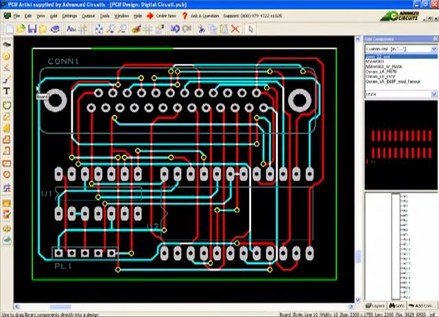 How to use PCB Artist, The Best FREE PCB Software | Advanced ...