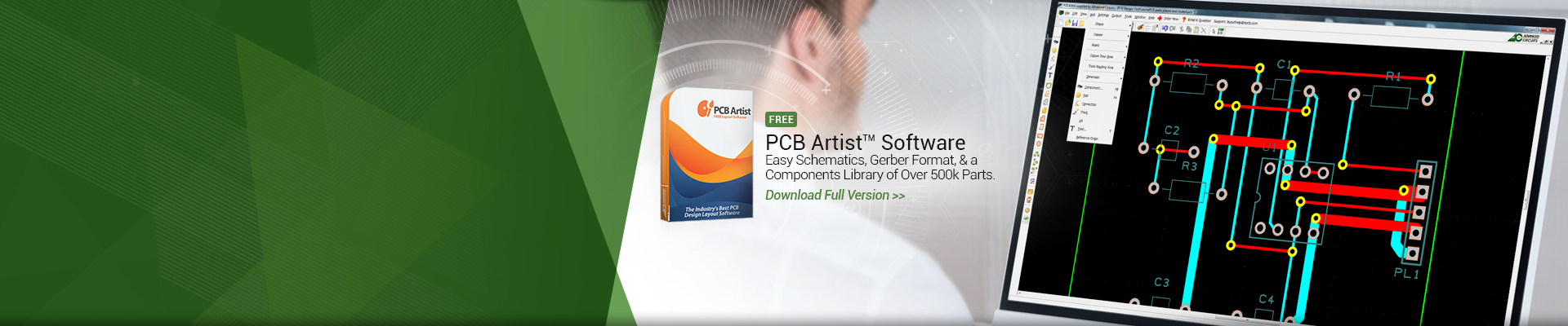 PCB Artist Software