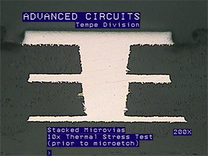 Microvia & HDI Printed Circuit Boards | Advanced Circuits
