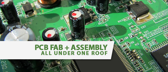 PCB + Assembly under one roof